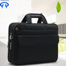 Briefcase men's canvas business laptop bag