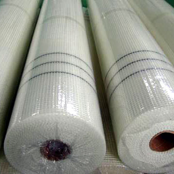 plastic film package of fiberglass mesh