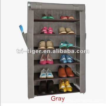 6 Layer Shoe Storage Cabinet with Covers