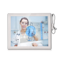 ABS+PC Plastic touch screen medical monitor