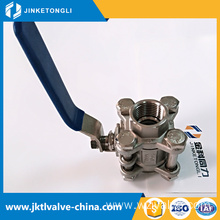 Wholesales irrigation save space din flow ball valve