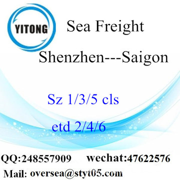 Shenzhen Port LCL Consolidation To Saigon