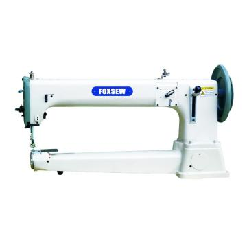 Long arm Type Flat Seaming Cylinder Bed Extra Heavy Duty Compound Feed Lockstitch Sewing Machine For Extremely Thick Materia