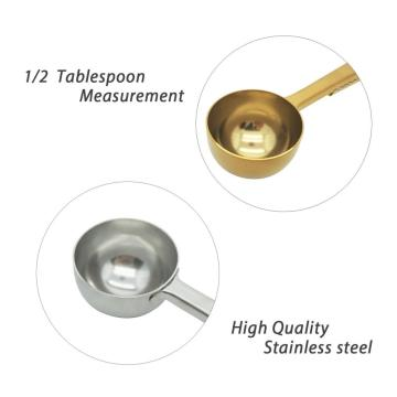 Stainless Steel Tea and Coffee Scoop Spoon