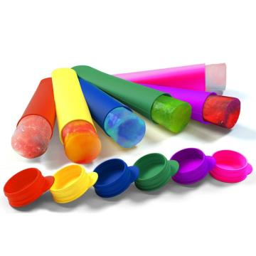 Multicolored Silicone 6PCS Ice Pop Maker Set