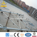 galvanized steel customed tubular pole