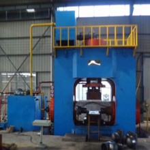 Stainless steel elbow cold forming machine
