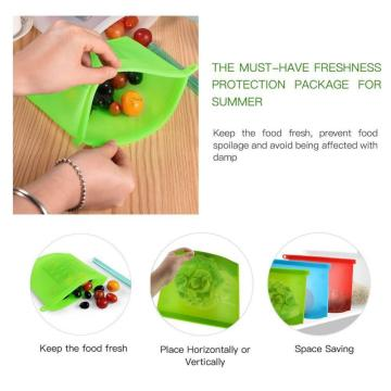 Storage Reusable Silicone Snack Bag