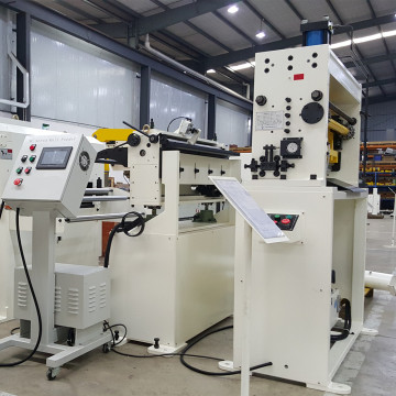 Press straightener feeder