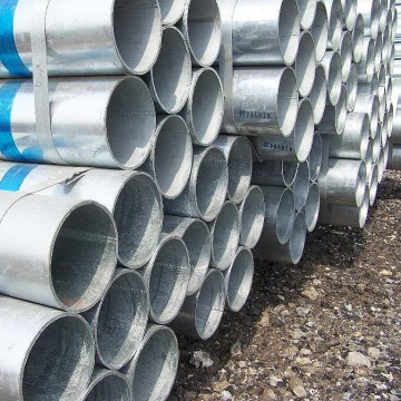 Galvanized steel pipe for greenhouse frame