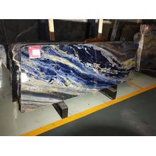 Big blue sodalite slabs