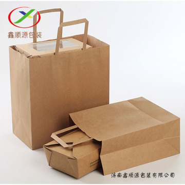 accept design colourful print sos handle paper bag