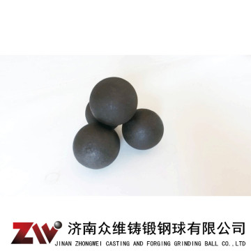 Hot rolling Forged grinding balls for cement 100mm