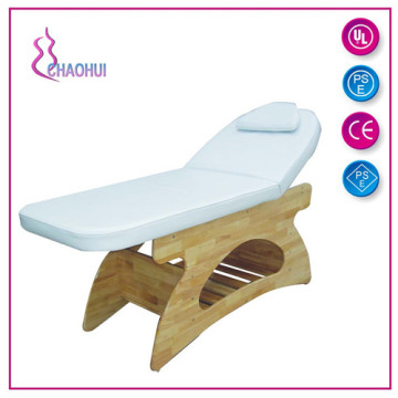 Customized for Solid Wood Massage Bed Salon Wooden Facial Bed Beauty SPA supply to Armenia Suppliers