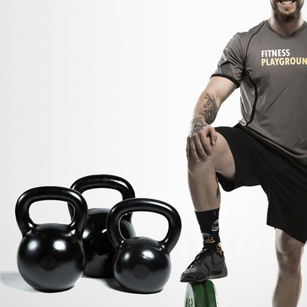 Rubber Coated Kettlebell Sets