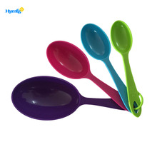 China for Plastic Measuring Cups plastic baking tool measuring cup set 4pcs supply to Italy Manufacturers