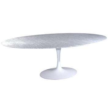 Modern hot selling Saarinen dining oval tulip table