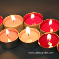 Paraffin wax scented tea light candle