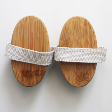 Custom Bamboo Bath Brush
