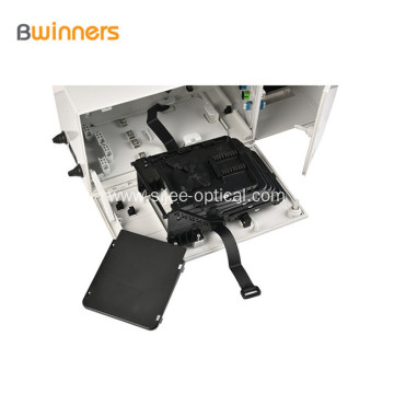 Distribution Cabinet Fiber Optic Hub Fiber 48 Core Wall Mount Multi-operator Box