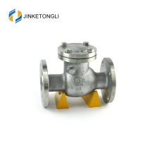 JKTLPC026 double dual plate carbon steel flanged 1 way check valve