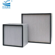 China for High Capacity Deep Pleat Hepa Filter Particulate Air Filter for General Ventilation export to France Manufacturer