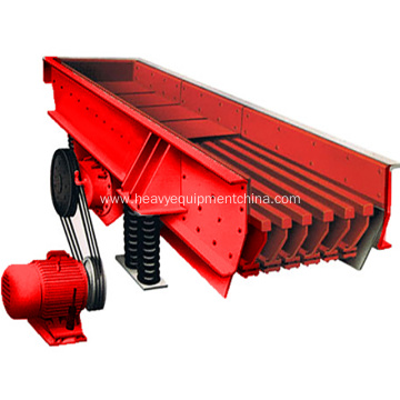 Sand Aggregate Making Plant Purpose Vibrator feeder Machine