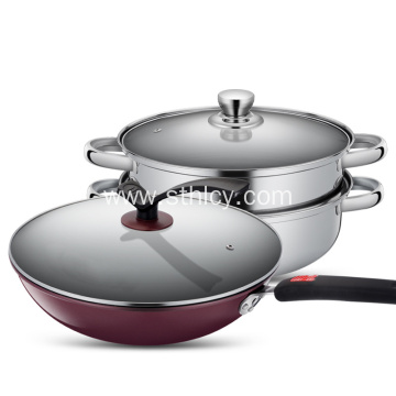 Bernice New Non-Stick Cooker Set