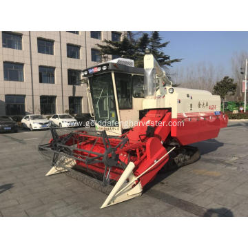 Crawler Type Paddy Rice Mini Combine Harvester