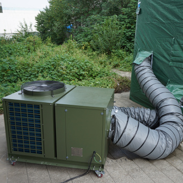 Field Sleeping tent use cooling system