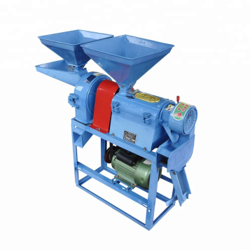 Electric motor mini home use rice sheller machine