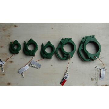 Concrete pump hose clamp