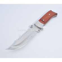 Stainless Steel Survival Skinning  Bowie Knife
