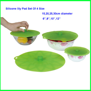 Colorful Flexible Silicone Lid Set