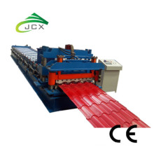 China Factory for for China Roof Tile Roll Forming Machine,Floor Deck Roll Forming Machine,Roll Forming Machine Used Manufacturer and Supplier Step tile roll forming machine export to Italy Wholesale