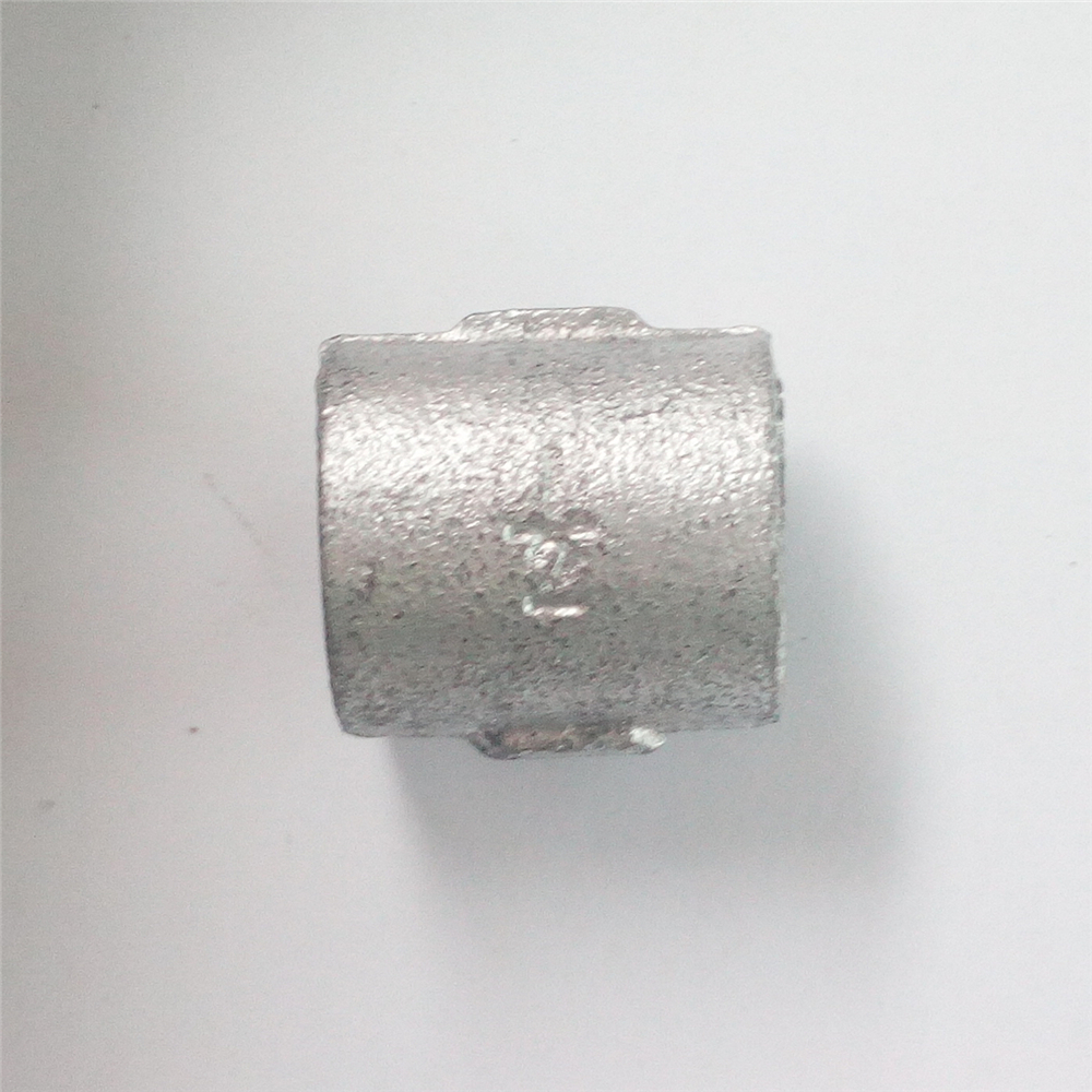 socket malleable iron pipe fitting plain