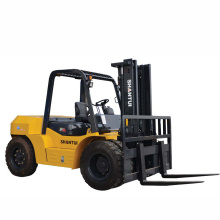 Leading for 4 Wheel Drive Forklift 8 Ton Diesel Forklift with Japan Engine export to Czech Republic Supplier