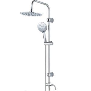 Manufacturer for Handheld Plastic Shower Rain Shower System Mixer Faucet export to Gambia Importers