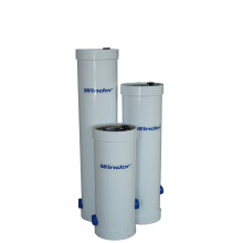 "OEM/ODM Manufacturer for Industrial Water Treatment FRP Filter Cartridge Housing, Water Filter Cartridge Outer Casing Manufacturer in China High Quality 40""FRP RO Precision Filter export to Poland Manufacturer"