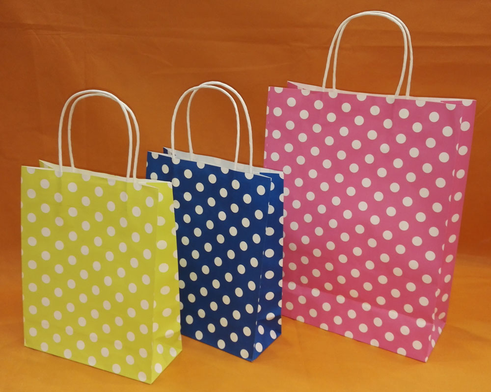 Colorful Paper Bag For Festivals And Birthday