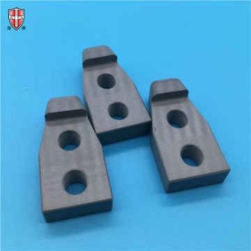 grey black hot pressure SiN silicon nitride parts
