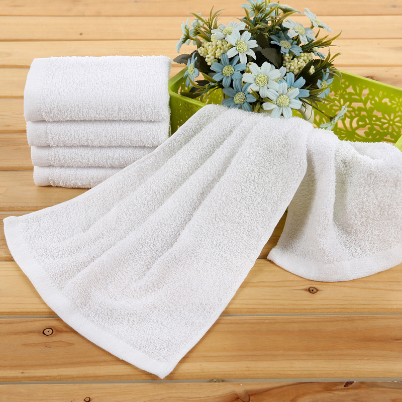 White Hotel Hand Towels