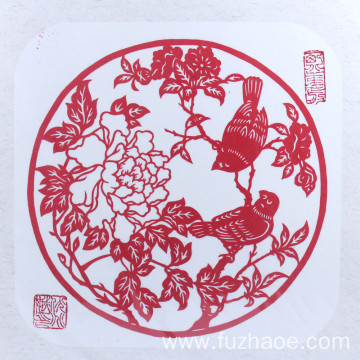 Blessing paper-cut window sticker 2019 New Year decoration