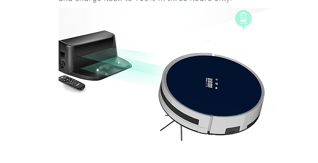 Powerful cleaning robot vacuum cleaner