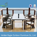 DS-(423) rattan outdoor furniture/ cube set table/outdoor dining set