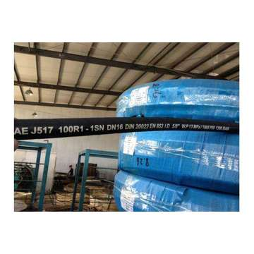 Bottom price for Rubber Hydraulic Hose SAE Standard oil resistant synthetic rubber inner tube export to Indonesia Factory