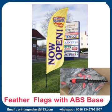 China for Supply Feather Flags, Feather Banners, Feather Flag Banners from China Supplier Promotion Feather Flags Custom With  Kits export to Portugal Manufacturers