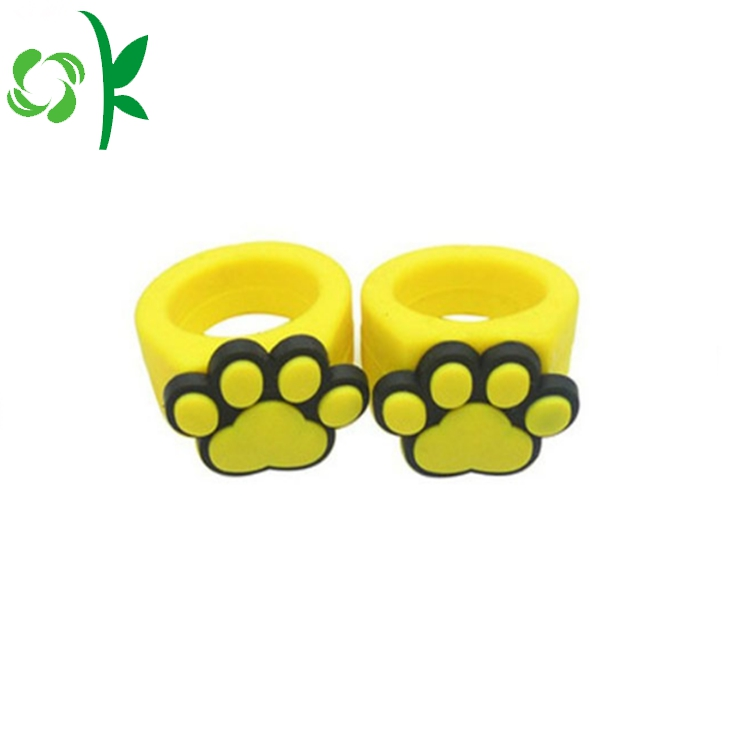 3d Silicone Embossed Ring