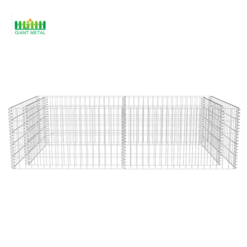 Wall blocks wire mesh