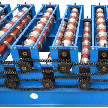 Double Roof Panel Cold Roll Forming Machine